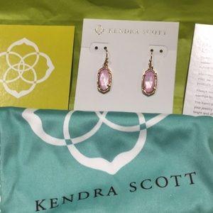 Kendra Scott Lee earring rose gold lilac MOP